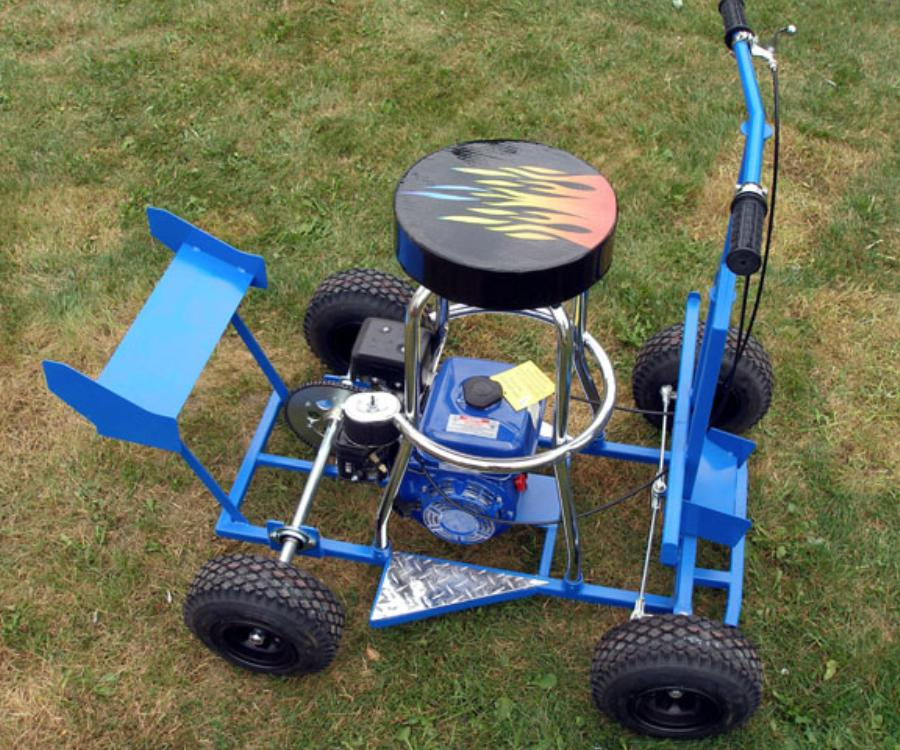 How To Build A Bar Stool Racer